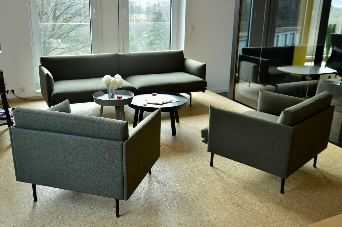Loungebereich der Büroeinrichtung von Kinzig Valley