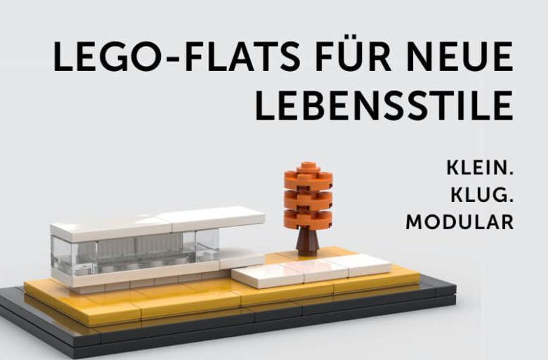 Beitragsbild: LEGO-Flats für neue Lebensstile