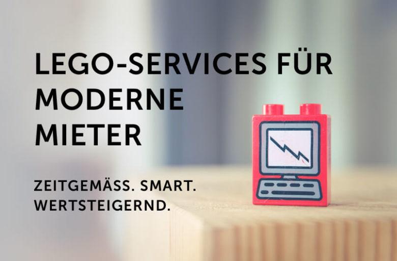 Beitragsbild: LEGO-Services für moderne Mieter