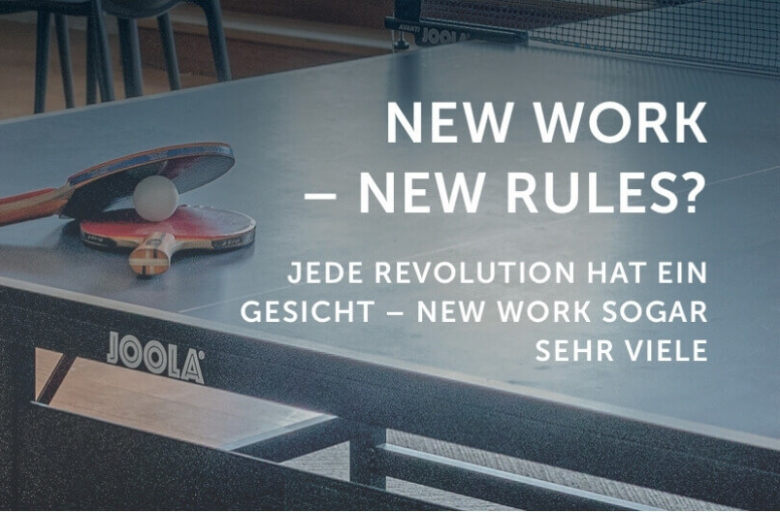 Beitragsbild: New Work - New Rules